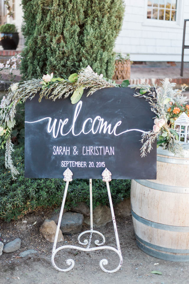 Chalkboard welcome sign | Katlyn Marie PhotoArt