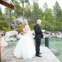 Wedding first look - Jeramie Lu Photography