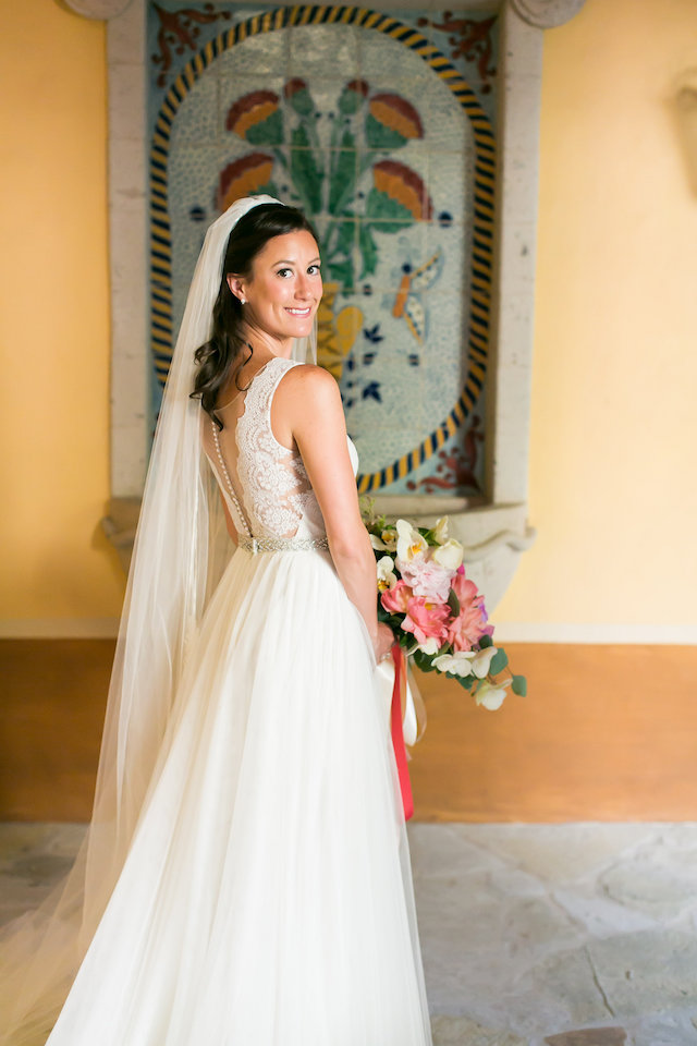 Destination wedding dress from Watters | Ana & Jerome Photography