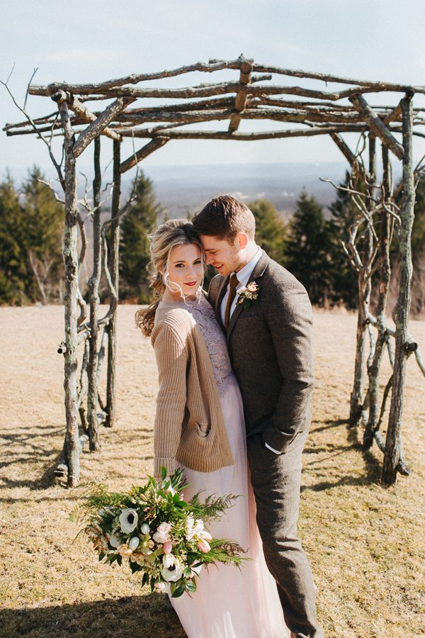 wedding arch ideas - photo by The More We See http://ruffledblog.com/cedar-lake-estate-wedding-inspiration