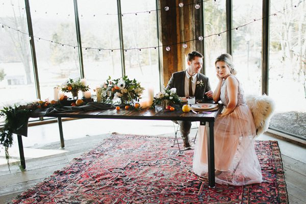 sweetheart tables - photo by The More We See http://ruffledblog.com/cedar-lake-estate-wedding-inspiration