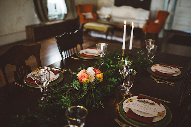 At home wedding ideas | Kate Rose Creative Group and Tim Waters Photography