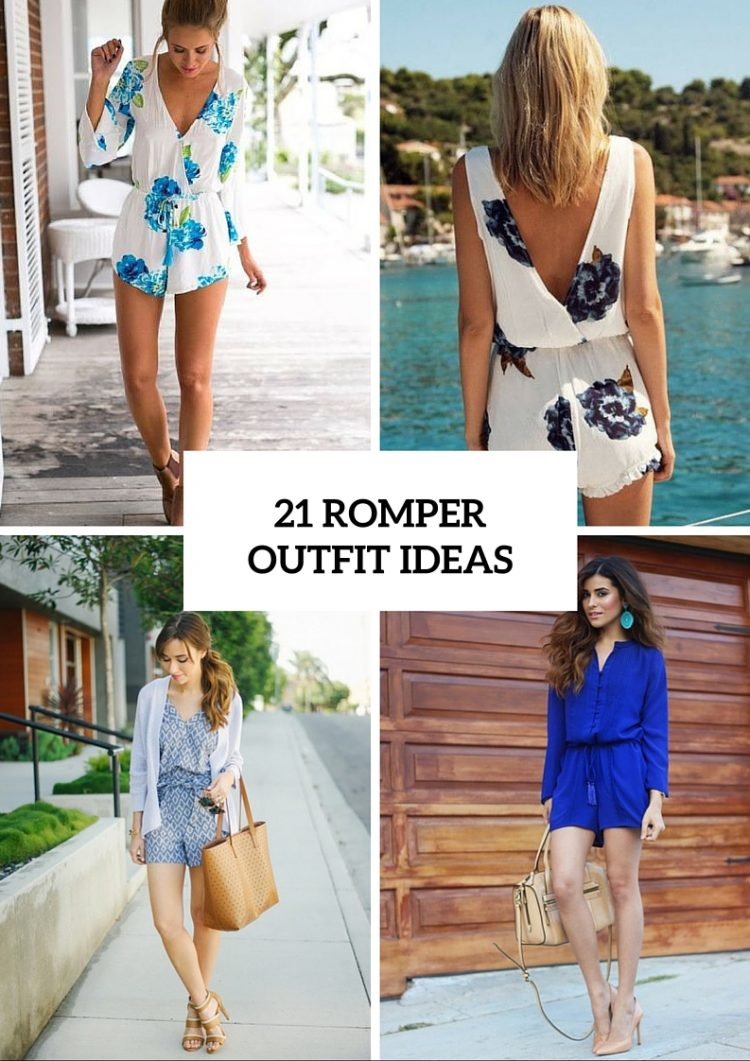 Delightful Romper Outfit Ideas For This Season