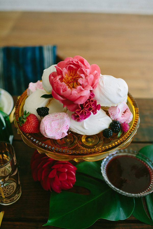 pink peony flowers - photo by Amber Vickery Photography http://ruffledblog.com/tropical-cuban-wedding-inspiration