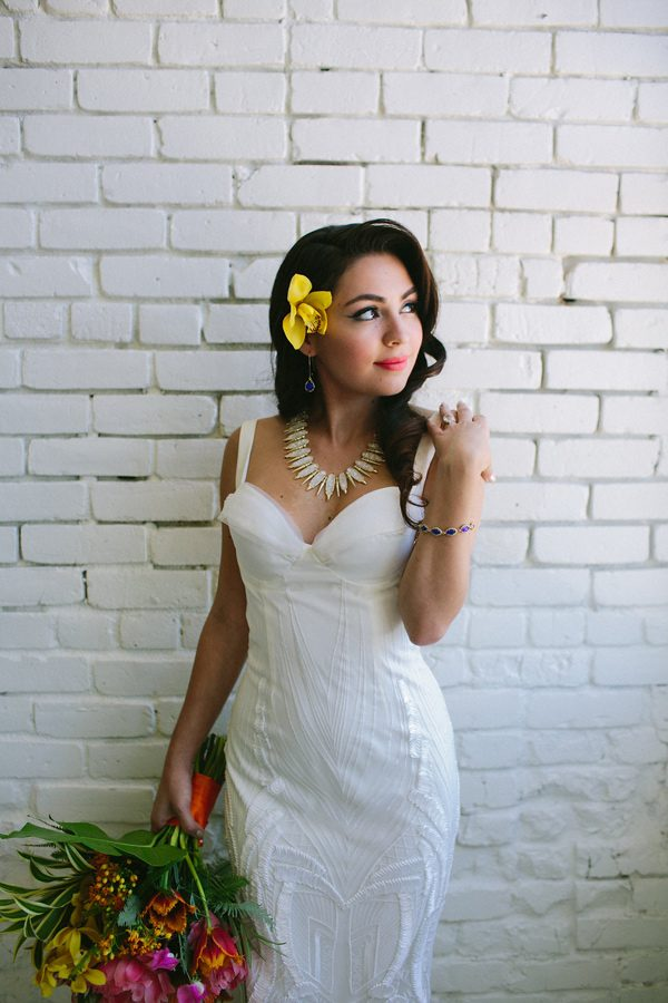 wedding dresses - photo by Amber Vickery Photography http://ruffledblog.com/tropical-cuban-wedding-inspiration