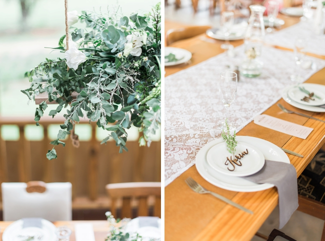 Rustic Wedding With A Refreshing Color Palette