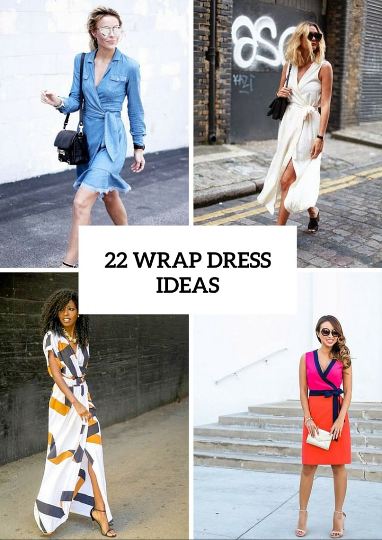 Summer Wrap Dress Ideas For Fashionable Girls