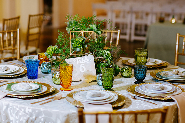 table numbers - photo by Texture Photo http://ruffledblog.com/golden-sands-wedding-inspiration