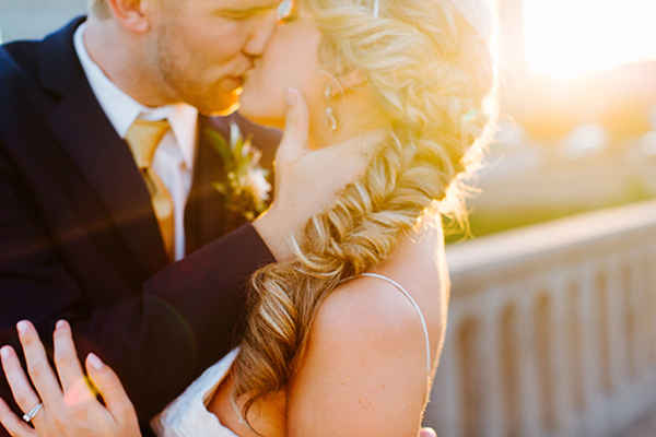 wedding braids - photo by Texture Photo http://ruffledblog.com/golden-sands-wedding-inspiration