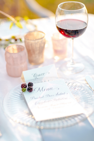 Menu with berries | Set Free Photography