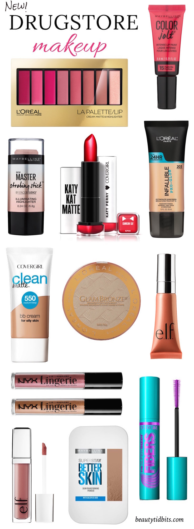 The latest in drugstore beauty is right here! Click through to check out the newest crop of drugstore makeup you need to get your hands on now!