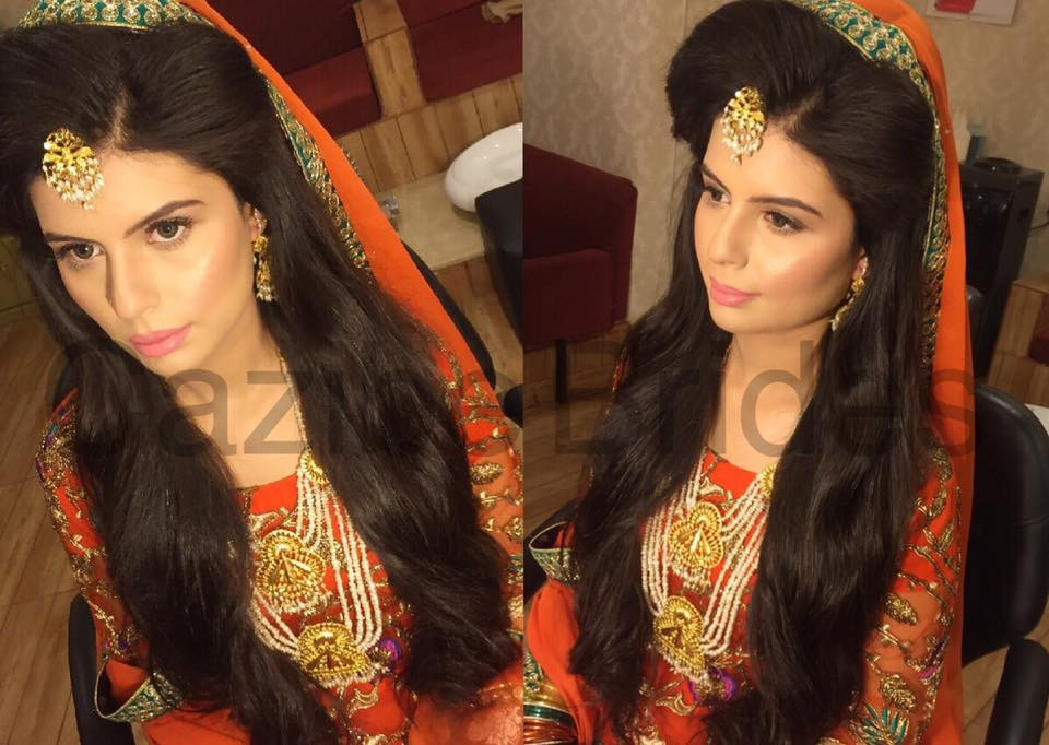 Pakistani Bridal Hairstyles For A Perfect Look (15)