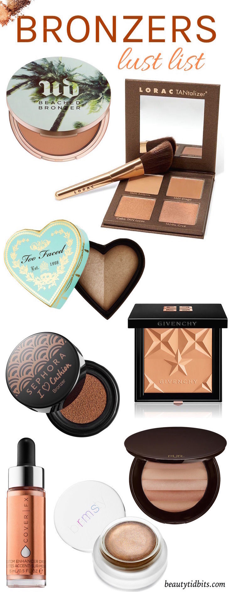 Need a new bronzer for summer? These fabulous tanning powders will give you a stunning sun-kissed glow that looks natural! And there's one for every skin tone from porcelain to mocha! Click through to find the perfect pick for you!