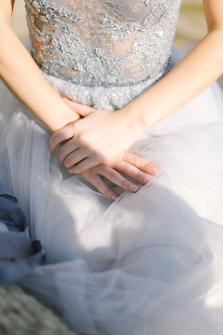 Great wedding dress details | Anny Dmitrieva Photography