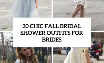 20 chic fall bridal shower outfits for brides wedding