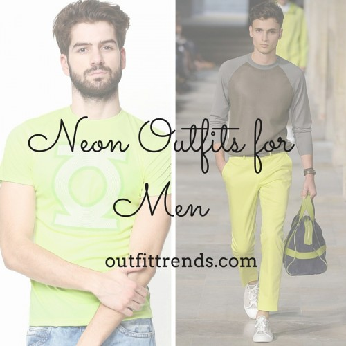 Ideas for Men to wear Neon Outfits