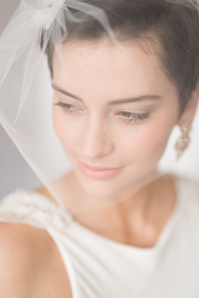 Birdcage Veil | Photography: Loren Weddings