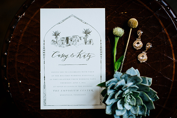 Moroccan-themed wedding invitations - photo by Texture Photo http://ruffledblog.com/golden-sands-wedding-inspiration