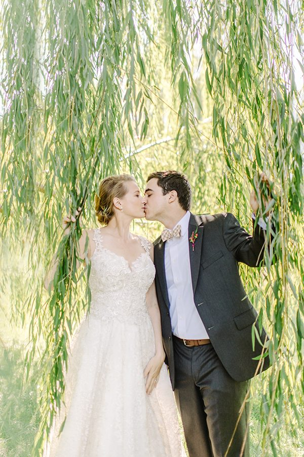 bride and groom fashion - photo by L. Hewitt Photography http://ruffledblog.com/heirloom-inspired-island-wedding