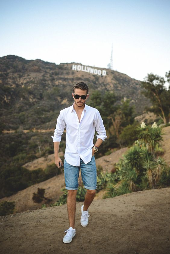 classic white shirt with a comfy fit