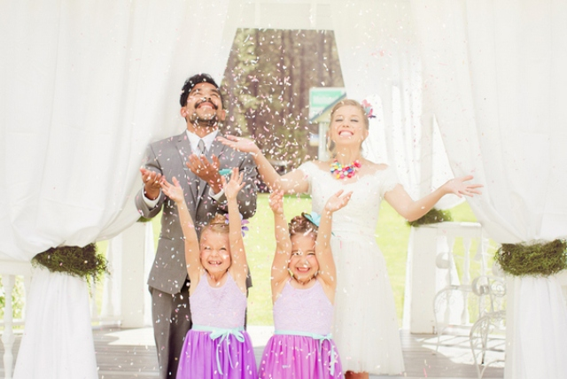 this fun shoot is a great source of inspiration for any summer wedding or engagement