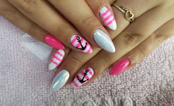 Manicure and pedicure are one of the essentials of every women's style. When it is summer as usual the fresh and neon colors are in. #nails