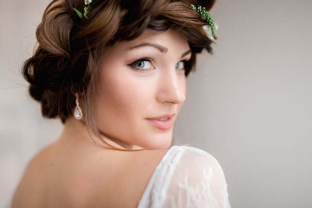 Close up bridal make up | Photography: Loren Weddings
