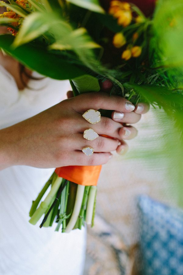 wedding bouquets - photo by Amber Vickery Photography http://ruffledblog.com/tropical-cuban-wedding-inspiration
