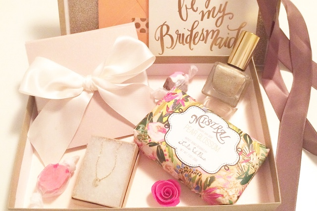 Be my bridesmaid box | Burnett's Boards
