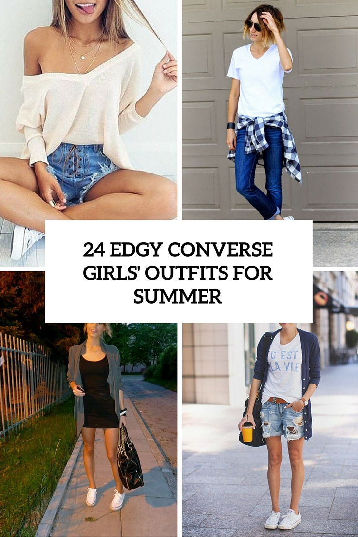 25 edgy converse girls outfits for summer cover