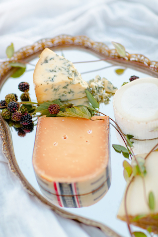 Cheese board and berries | Set Free Photography