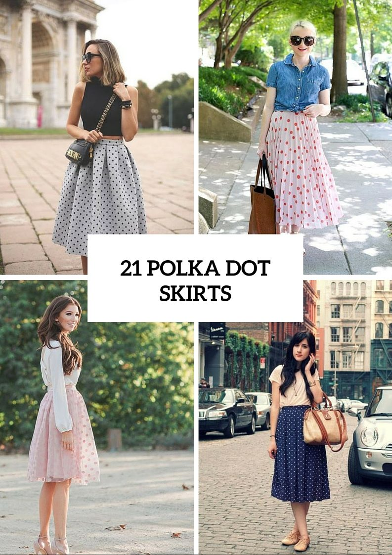 Polka Dot Skirts To Try This Summer
