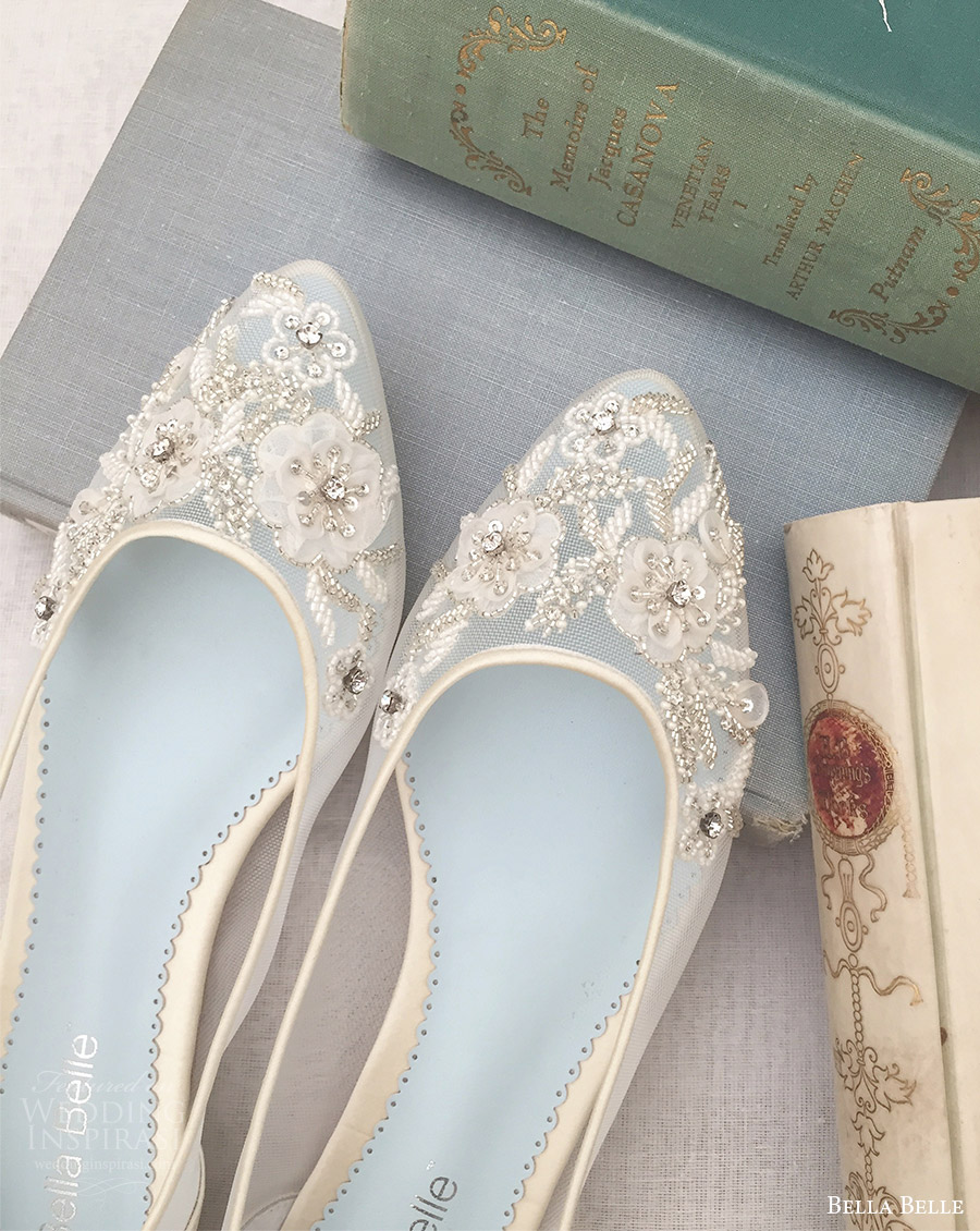 bella belle bridal shoes 2016 adora flats