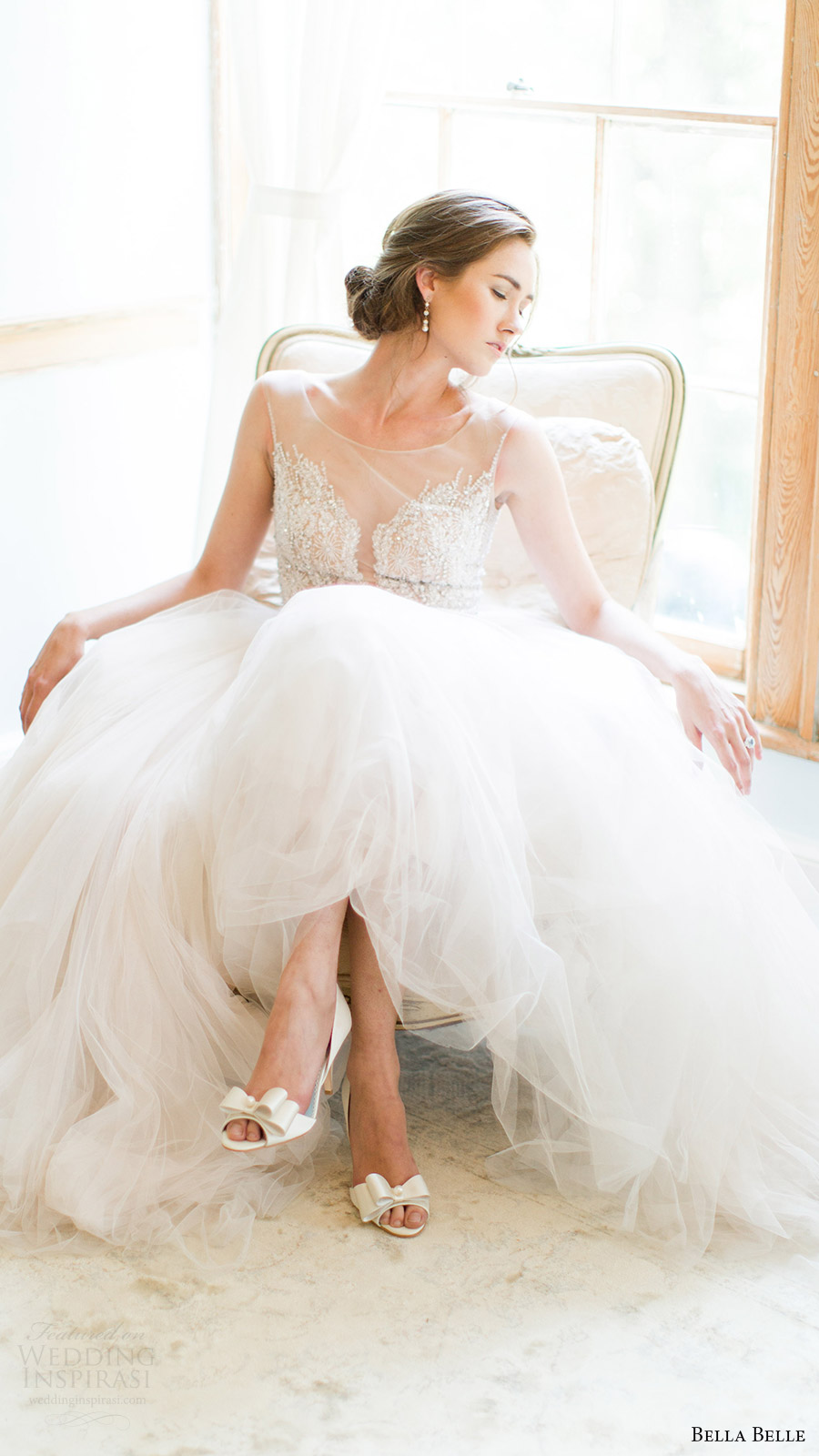 bella belle bridal shoes 2016 julia d orsay peep toe 3.5 inch heels wedding shoes watters wtoo gown