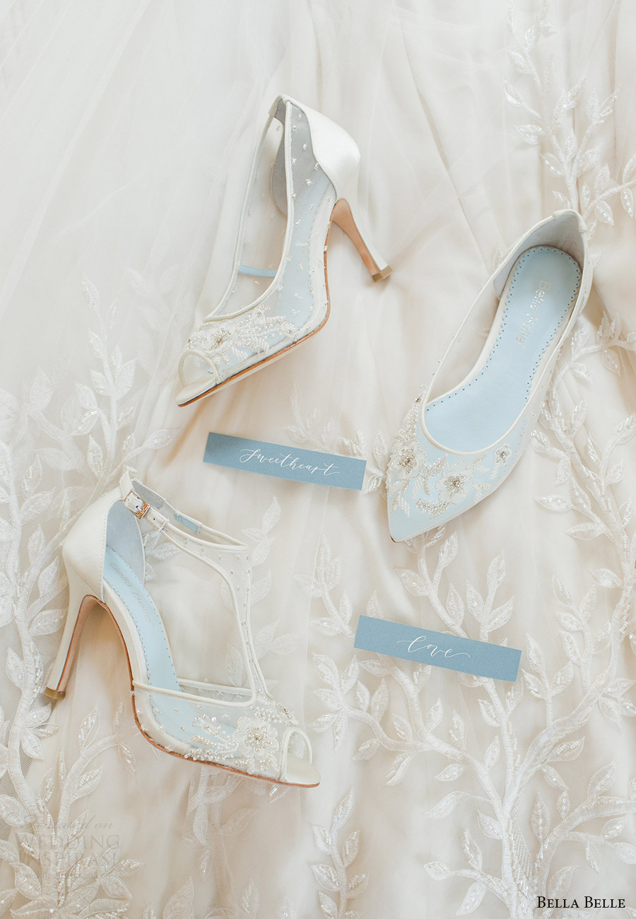 bella belle shoes 2016 eternal lookbook rachel may photography gorgeous lace wedding shoes