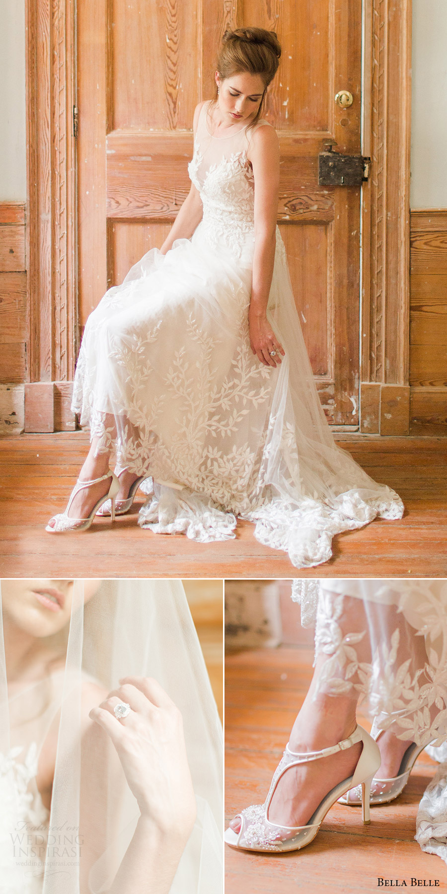bella belle shoes 2016 paloma hand beaded peeptoe wedding shoes rachel may photography