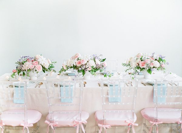 pink bridal shower ideas - photo by Brklyn View Photography http://ruffledblog.com/she-got-scooped-up-wedding-inspiration