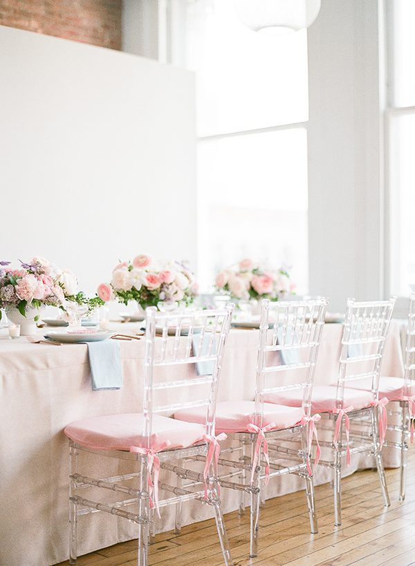 wedding party decor - photo by Brklyn View Photography http://ruffledblog.com/she-got-scooped-up-wedding-inspiration