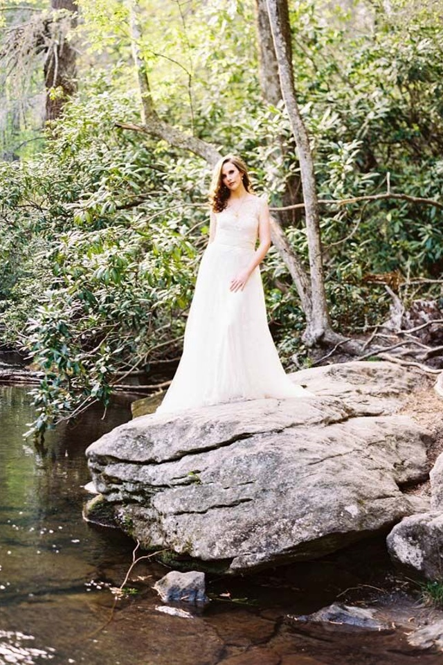 Ethereal bridal portrait | Perry Vaile Photography