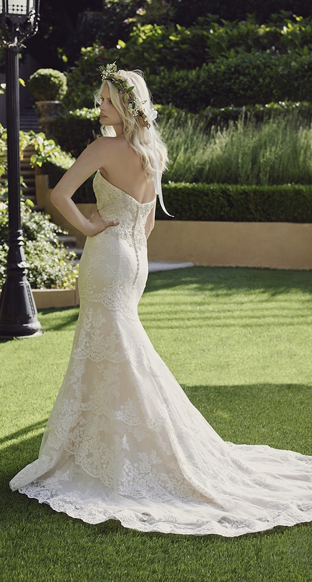 Casablanca Spring 2016 Wedding Dress