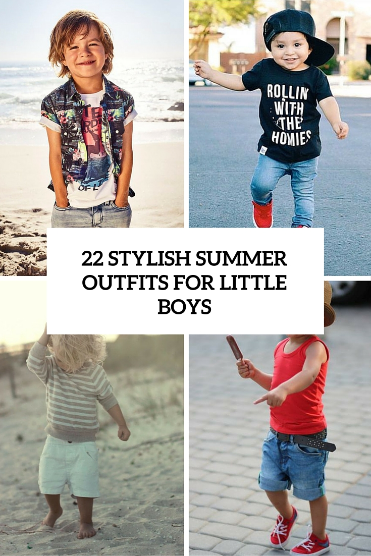 stylish summer looks for little boys cover