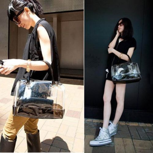 Style tips to carry clear and transparent handbags (7)