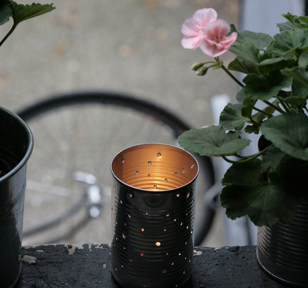 #14 - DIY Candle Holder Out of Spoon Can 3