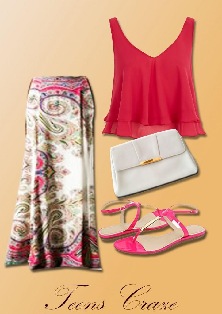 #7 - Cool Summer Maxi Outfit
