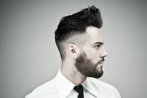 #12 - Fade Haircut with Quiff
