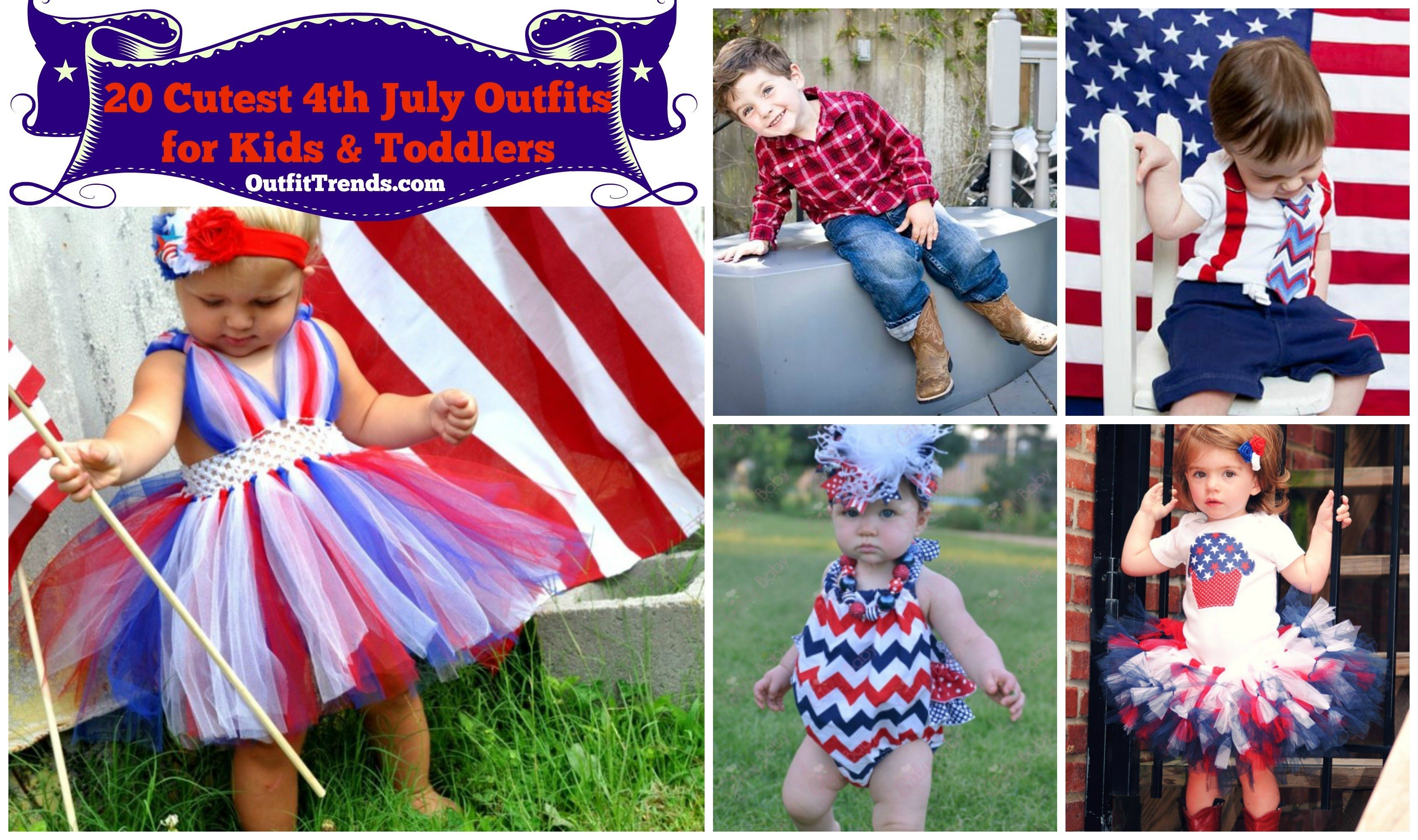 kids outfit ideas for 4th july