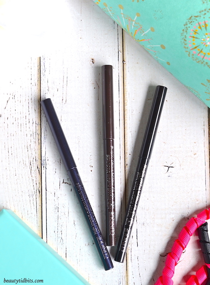 Clinique High Impact Custom Black Kajal pencils