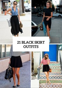 Chic Black Skirt Outfits To Try