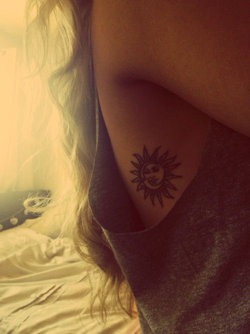 #1 - Sun and Moon Tattoo