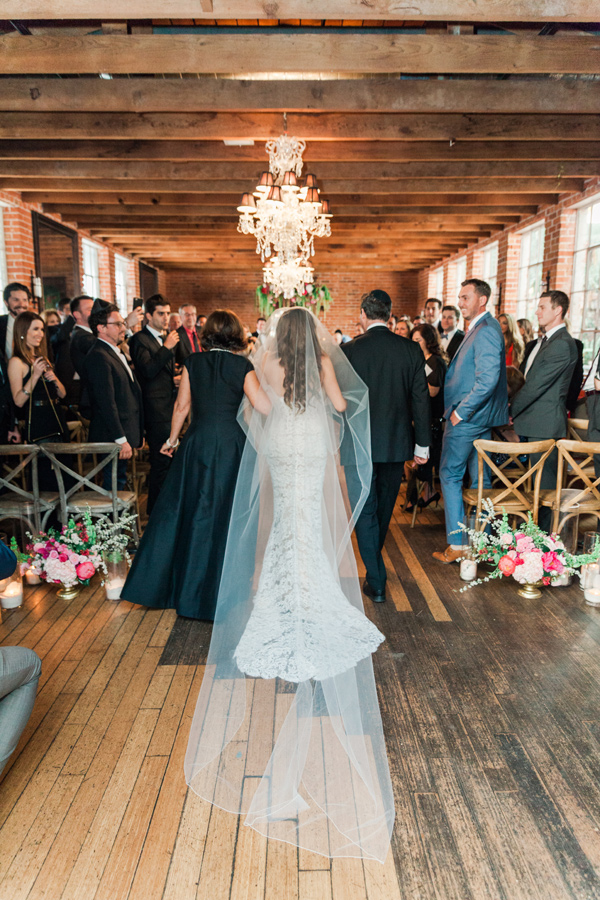 ceremony processional - photo by Valorie Darling Photography http://ruffledblog.com/floral-filled-carondelet-house-wedding